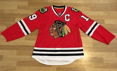 Official Reebok NHL Chicago Blackhawks Replica Ice Hockey Jersey (J Toews - #19)
