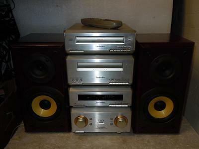 Technics Hd350 Great Stereo System With Remote-Sounds Superb
