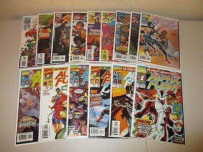Alpha Flight #1-15  VF/NM  (Full Lot of 15)   1997 Marvel Comics