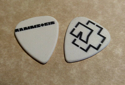 RAMMSTEIN (Band Signature Logo) guitar pick  -(z)