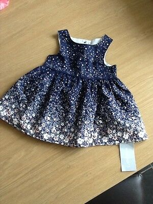 Monsoon baby dress, Primark dress new with tags, hand knitted baby matinee coat