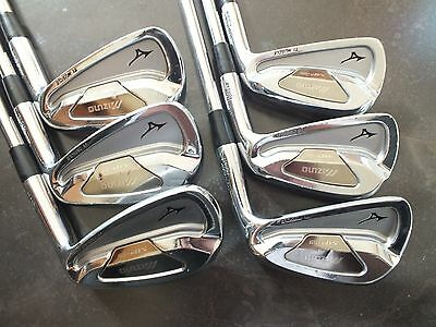 """Mizuno MP-59 Irons 5-PW Dynamic +3/4"""" 2 Degrees upright - Great Condition"""
