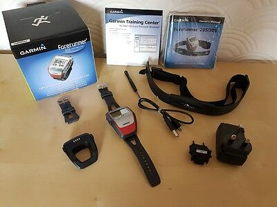Garmin Forerunner 305 GPS Running Watch - Exc. Condition, Boxed
