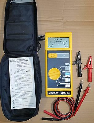 Megger BM403 Insulation Continuity Tester / Multimeter with case