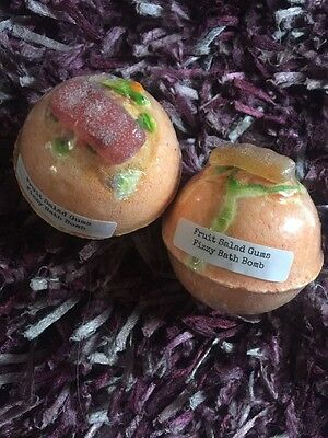 Fruit Salad Bath Bombs Lush Scents Handmade In The UK X Two Bombs