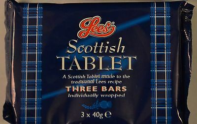 Sweets Scottish Butter Tablet Scottish Sweets Pack of Three