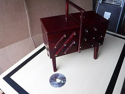 Cantilever  Sewing  Box.