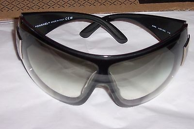 CHANEL 5086 501/8G Black/Silver Gray Lenses Sunglasses- AUTHENTIC with case
