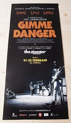 Locandina Film GIMME DANGER THE STOOGES - Poster Originale 33x70