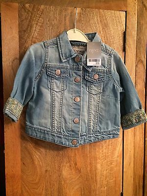 NEXT 12-18 mth Blue denim jacket NEW WITH TAGS