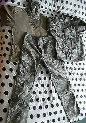 wwe wwf bushwhacker luke worn ring used signed complete camo outfit very rare