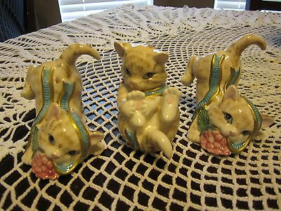 Fitz and Floyd Kitten Kaboodle Tumblers 2003 2063/557 Tumbling Kittens NIB Cute