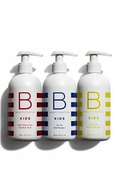 BeautyCounter Beauty Counter Kids Bath Collection~Set of 3~New In Box~USA MADE!!