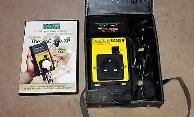 ParkerBell PAC 500-XP PAT Tester Portable Appliance Tester ...USED