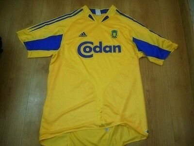 Brondby If 2004/06   Adidas   Size L  Home Shirts