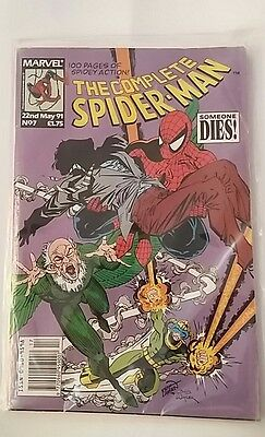 The Complete SPIDER-MAN Comic - No 7- Date 22/5/1991 - Marvel Comics