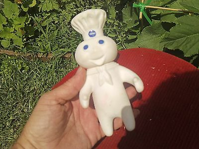 Vintage Dated 1971 Rubber Phillsbury Dough Boy Doll