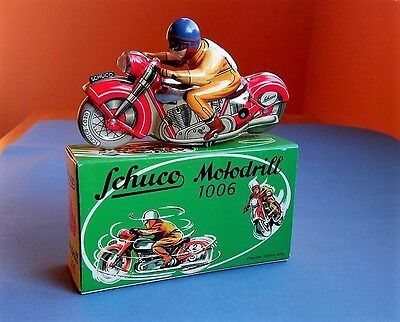 Schuco Motodrill 1006 Tinplate Wind-Up Toy - Replica