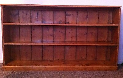 Antique Pine Freestanding Bookshelf Bookcase