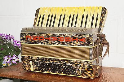 Vintage Personalized Hohner accordion