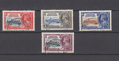 Somaliland Protectorate 1935 Silver Jubilee Set Fine Used