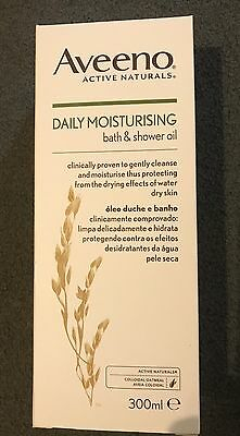 Aveeno Bath And Shower Oil Daily Moisturising 300ml