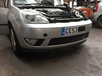 Ford Fiesta Mk6 Front Bumper In Moon Dust Silver 2002 To 2005