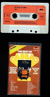 ABBA - The Best of ABBA - MC - Cassette - Musikkassette - HOLLAND
