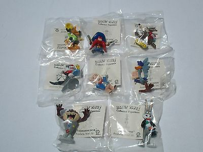 Looney Tunes Characters Complete Set Of 8
