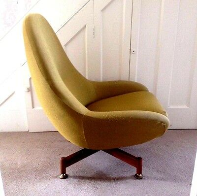 Egg chair mid-century Greaves and Thomas 1960's