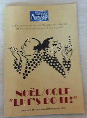 1992 Yvone Arnold Theatre: Noel/Cole LET'S DO IT