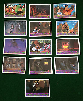 Beauty And The Beast 13 Upper Deck Trading Cards Mixed Lot ~ Free Uk Post