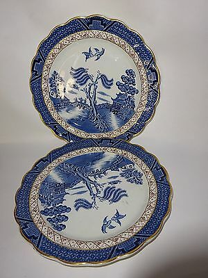 Vintage Booths Real Old Willow Plate Pottery Pattern  No A8025 Made In England