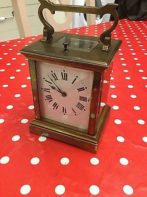 Lovely Unusual Repeater Carriage Clock