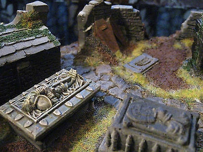 Pro Painted Warhammer Age Of Sigmar Scenery Grave Yard.