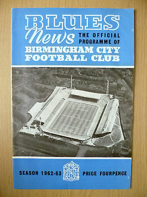 1963 League Cup Final- BIRMINGHAM CITY v ASTON VILLA
