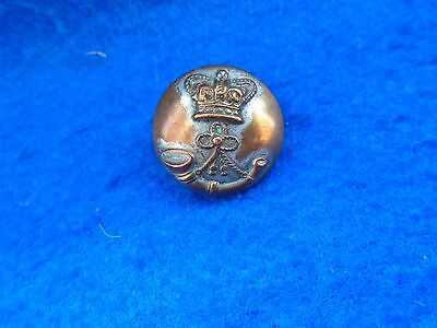 1 X Victorian Rifle Volunteers 22Mm Tunic Button, C&j Weldon  London