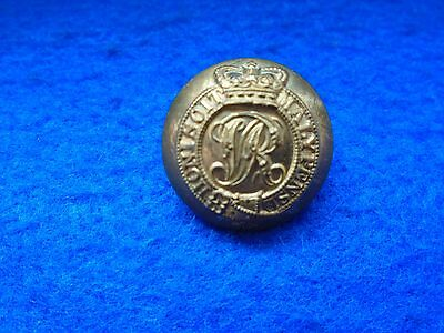 Victorian Brigadiers & Colonels 23Mm Gilt Tunic Button, Gillham & Co Sandhurst