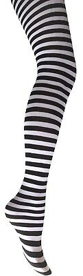 Extra Large Striped Tights- Ladies Plus Size Striped Tights-