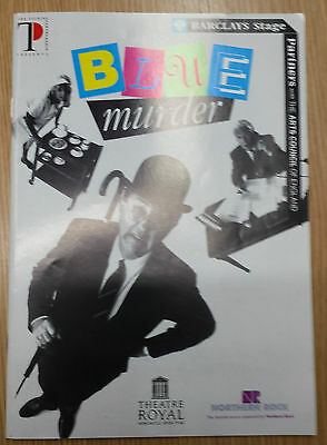 1996 Theatre Royal Newcastle Upon Tyne: BLUE MURDER - Programme & Ticket