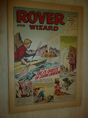 Comic- THE ROVER and WIZARD - 4th May 1968