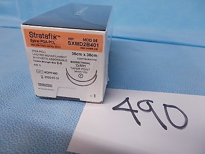 Stratafix 2-0 Knotless Tissue Control Devices, # SXMD2B401 (Box of 12) EXP 2020