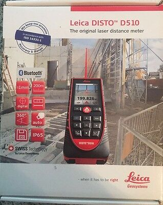 Leica Disto D510 Laser Measurer.