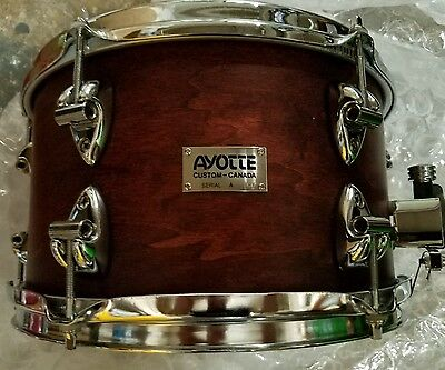"""AYOTTE CUSTOM  maple snare drum 7""""x12"""":TOUGH TO FIND! $$"""