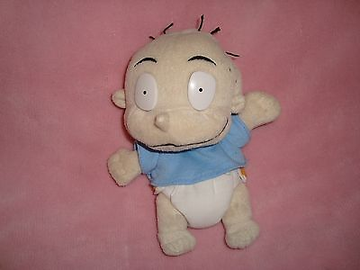 "Nickelodeon Rugrats Tommy Pickles Plush & Beans 4"" tall x 7"" long"