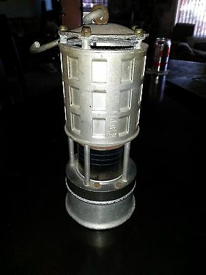 Vintage Koehler Mfg Co Permissible Flame Safety Lantern Light Mining Lamp 209