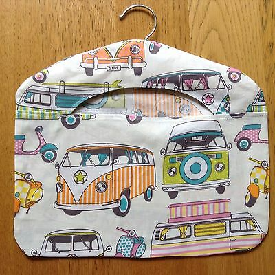 NEW! Orange & Lime Large Camper Vans Peg Bag