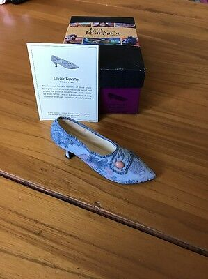Just The Right Shoe Lavish Tapestry Boxed With COA