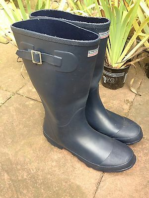 Town & country wellies -navy Blue Uk Size 6