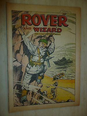 Comic- THE ROVER and WIZARD - 13th April 1968